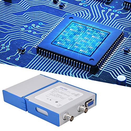 OSC482F Osciloscopio virtual móvil portátil digital 13MHZ Generador de señal Analizador lógico de 4 canales