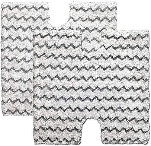 DingGreat 2Pcs Ersatz-Pads für Dampfreiniger für Shark Lift-Away Pro Tasche Dampfbesen & Genius Steam Pocket Serie Mop | Vergleichen Sie mit Hai Teil XTP184