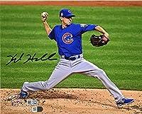 "Kyle Hendricks Chicago Cubs 2016 MLB World Series Champions Autographed 8"" x 10"" World Series Photograph - Autographed MLB Photos"