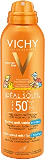Vichy Fotoprotector solar idela soleil spf50+, spray bruma antiarena infantil 200 ml.+REAGALO Bolso de verano