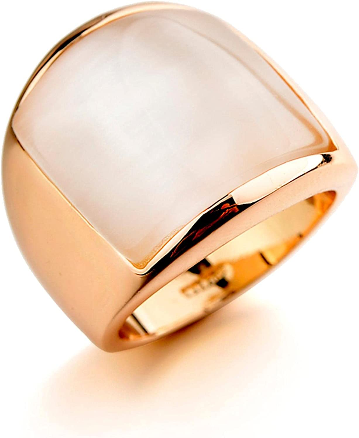Rose Gold Limited price sale Color Silver New item Wedding for Opal Rings Wome Crystal