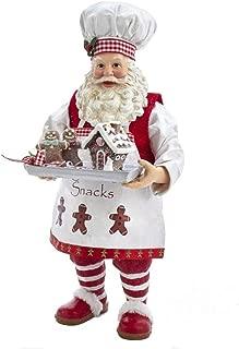 santa gingerbread house