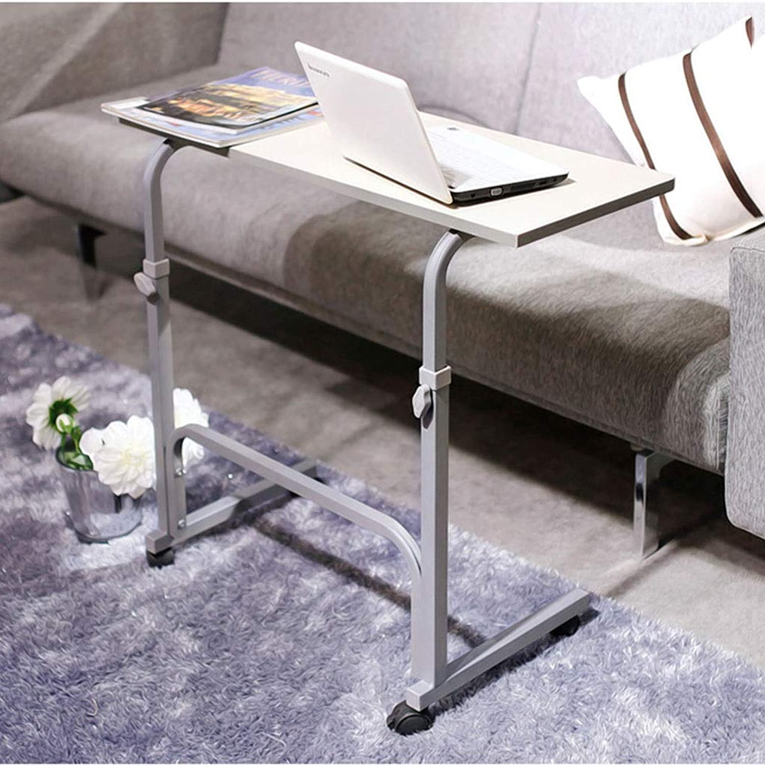 Side Tables Side Table Multi-Function Computer Table Lazy Table Home Living Room Sofa Side Table Writing Desk Bedroom Bedside Table Coffee Table Movable Table Tables