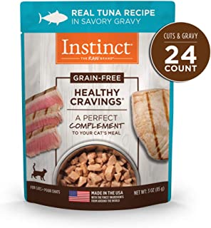 Instinct Healthy Cravings Grain Free Recipe Natural Wet Cat Food Toppers