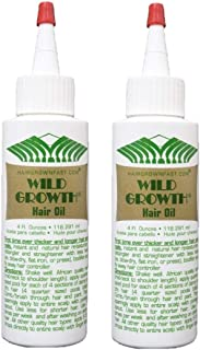 WILD GROWTH hair oil 2 bottles