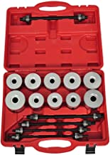 vidaXL 27pc Universal Press & Pull Sleeve Kit Bush Bearing Removal Insertion Tool Set