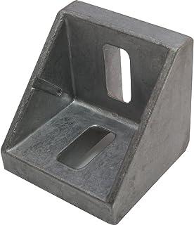 10 ángulos de aluminio 45 42 x 42 x 42 mm ranura M8 10 de aluminio.