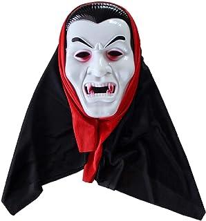 Masker Decoratie, Halloween Horror Hoofddeksels Masker Scary Haunted House Dress Up Underworld Boss Props (Color : E)