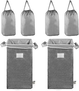 MCleanPin Laundry Hamper 2 Pack (Grey-2pack)