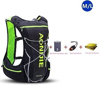 10L ligero resistente al agua mochila de esquí mochila de running Marathon Ciclismo Bolsas Running chaleco eléctrica bolsa de deporte