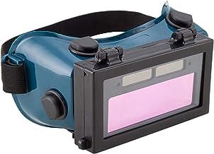 yotijar Auto Escurecimento Solar de Solda Soldador Óculos Olhos Óculos de Proteção, Máscara com Flip Up Lens