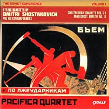 The Soviet Experience, Vol. 1 - String Quartets by Dmitri Shostakovich and his Contemporaries by Pacifica Quartet (2011-09-27)
