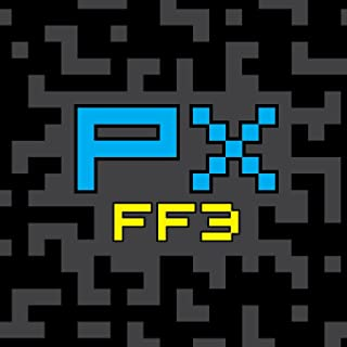 PX FF3: Final Fantasy III (FF3) Pixel Art Sketchbook, Sketchpad and Drawing Pad for Pixel Artists, Indie Game Developers, Retro Video Game Makers & Pixel Art Character Designers