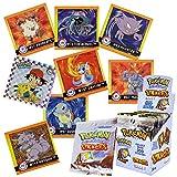Pokemon Caja de Pegatinas   300 Pegatinas Recoger, Intercambiar y Pegar