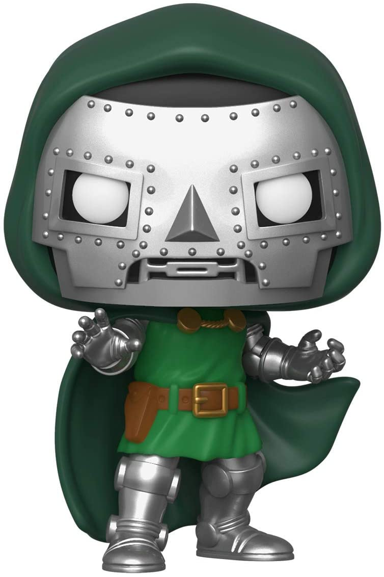 Doom #17 Extremely Rare Vaulted Retired MINT With Protector Funko Pop Marvel Dr