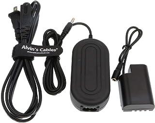 Alvin's Cables DMW-DCC12 DC カプラー の代替 DMW-AC8 AC 電源 アダプター ケーブル キット Panasonic Lumix 用の DMC-GH3 DMC-GH4 DMC-GH3K DMC-GH4K DC-...