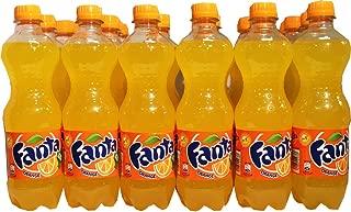 Fanta Classic Orange Soda (European Import) - CASE of 24 X 0.5L Bottles