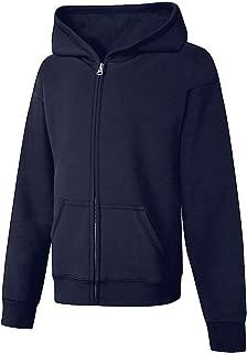 ComfortSoft EcoSmart Girls Full-Zip Hoodie Sweatshirt