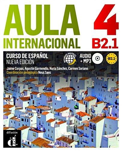 Aula Internacional - Nueva edicion: Libro del alumno + ejercicios + CD 4 (B2.1 by Erich Kastner(2014-08-28)