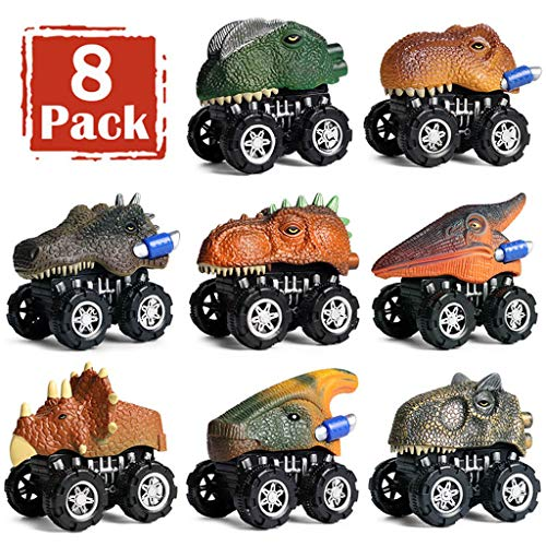 Pull Back Dinosaur Cars 8 Pack$19.70(80% Off after CODE)