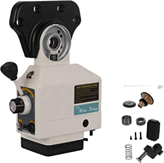 SHZOND Power Table Feed X-Axis 150 LBS Torque Power Feed 200 RPM Adjustable Rotate Speed for Bridgeport and Similar Vertical Milling Machine (X-Axis Torque 150LBS)