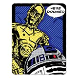 Disney Star Wars, 'Doomed' Fleece Throw Blanket, 45' x 60', Multi Color