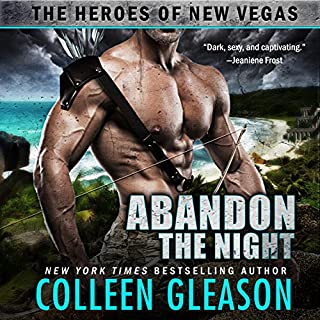 Abandon the Night audiobook cover art