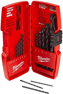 Milwaukee 48-89-2800 14 Piece Thunderbolt Black Oxide Drill Bit Set