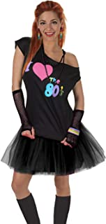 Women's I Love The 80's T-Shirt 80s Outfit Accessories