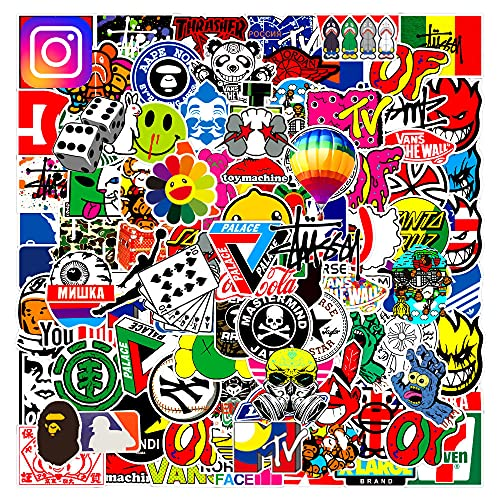 Stickers for Adults Teens,101 Packs Stickers for Laptop, Skateboard, Water Bottles, Waterproof Stickers