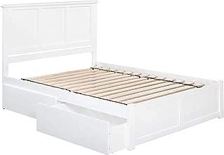 atlantic furniture queen storage bed