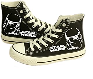 e6a1b4361b Telacos Star Wars Shoes Darth Vader Anakin Skywalker Canvas Shoes Cosplay Shoes  Sneakers