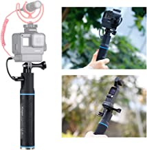 5200mAh Rechargeable Power Hand Grip Monopod + OSMO Pocket Adapter + Phone Mount for DJI OSMO Action Pocket Gopro 8 7 6 5 Vlog Case iPhone Samsung OnePlus 7 Pro Vlogging Power Bank Handle Rig Tripod