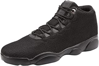 Lace Up Sneaker Men Flat Running Basketball Shoe Non-Slip Breathable
