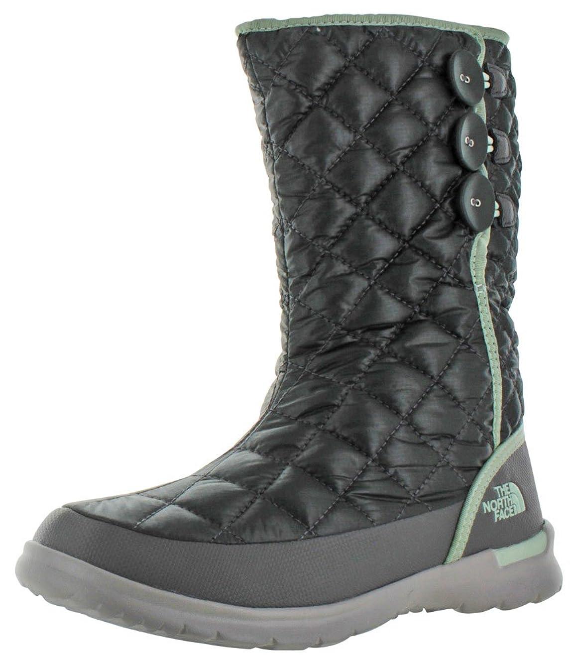 放射性シャイちょっと待ってThe North Face Womens Thermoball Button Up Round Toe Cold Weather Boots, Green, Size 9