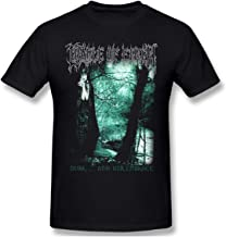 SUNPOPGNW Cradle of Filth Retro Design T-Shirt for Man Black