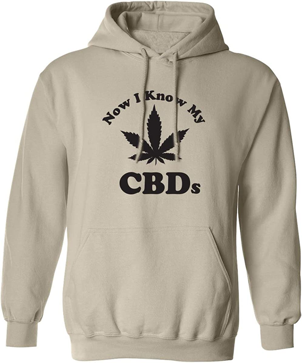 Now I Know My CBDs Adult Hooded Sweatshirt