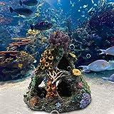 Hermosa decoración de acuario, adorno de tronco de árbol, mejor decoración de acuario, decoración decorativa de acuario R Esin hecho