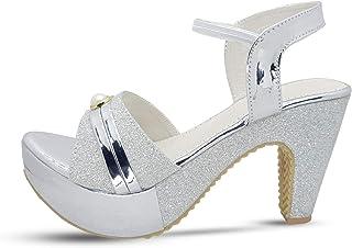 LookShine Ballroom Dance Shoes Women Dancing High Heel Salsa Shoe Sandal Pumps