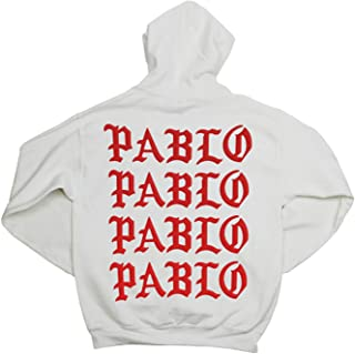 Yeezus Paris Pablo Pablo Pablo Pablo White Hoodie - Paris Pop Up Shop - I Feel Like Pablo - Yeezy