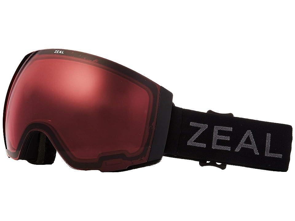 Zeal Optics Portal (Dark Night w/ Automatic+ RB + Sky Blue Mirror) Snow Goggles