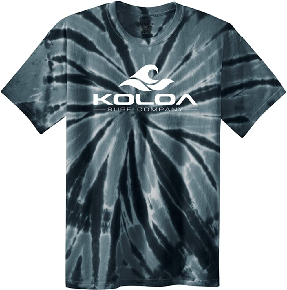 Koloa Classic Wave Logo Limited price Tie in Dye Shirts Sizes S-4XL Selling rankings