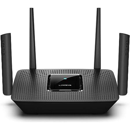 Linksys MR9000 Tribanda Mesh Router Wi-Fi (Funciona con Velop WiFi Mesh para Todo el hogar, 4 Puertos Ethernet Gigabit, Controles parentales por la aplicación de Linksys)