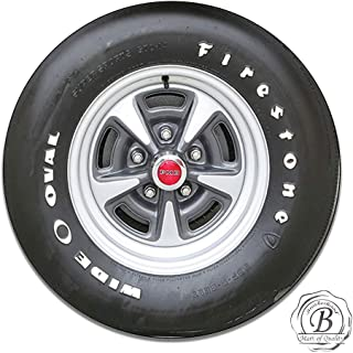Brotherhood Pontiac Tire Wheel Firestone Wide Oval Insignia Emblem Seal Vintage Gas Signs Reproduction Car Company Vintage Style Metal Signs Round Metal Tin Aluminum Sign Garage Home Decor