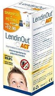 Lendinout Act Shampoo Antipidocchi con Pettine - 150 ml
