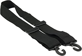 Made in USA 2W x 60L Black Poly Web Replacement Shoulder Luggage Travel Bag Strap
