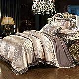 juegos de sábanas infantiles 105,EUROPEO TIANSI Algodón Satin Jacquard Cuatro sets, algodón se utiliza para la cama de la...