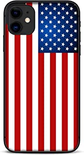 Skin Decal Vinyl Wrap Compatible with Apple iPhone 11 | Phone Stickers Skins Cover | American Flag Merica USA Pride