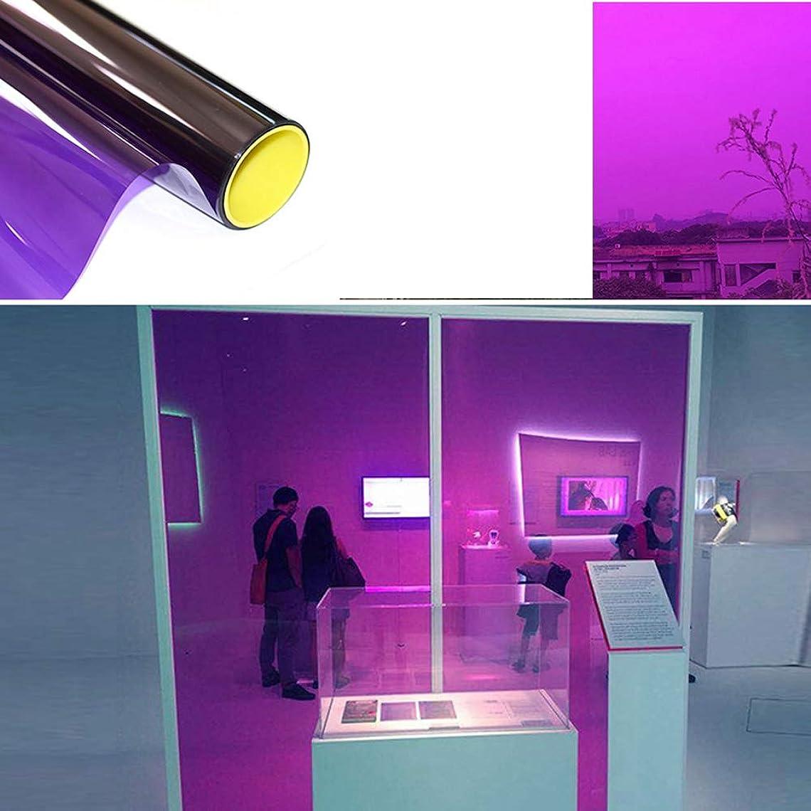 牛肉レンズジャンクYiwanda 建築ガラスフィルム フィルム ガラス透明断熱フィルム 冷暖房効率アップ 飛散防止 外から見えない リメイクガラスフィルム (90*1000CM,16)