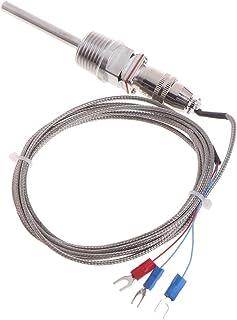 Haia7K4k RTD PT100Capteur de température Sonde L 5cm 1/5,1cm NPT Filetage W/connecteur amovible